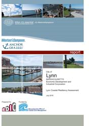 Screen shot of cover for the Coastal Resiliency Assessment