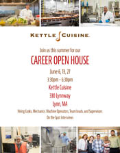 flyer with career open house insformation